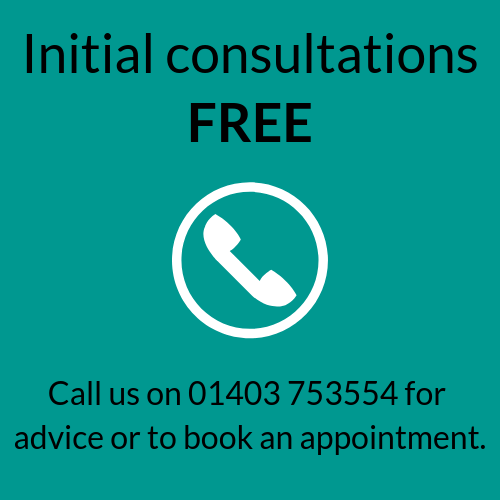 Initial Consultations Free